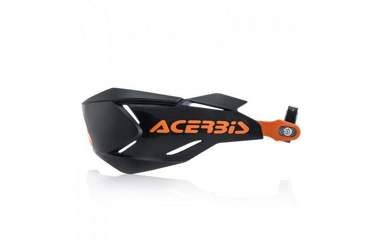 Προστασία χεριών Acerbis X-Factory μαύρο-πορτοκαλί
