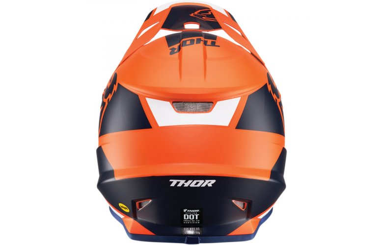 ΚΡΑΝΟΣ THOR MX SECTOR SPLIT ORANGE/NAVY MIPS