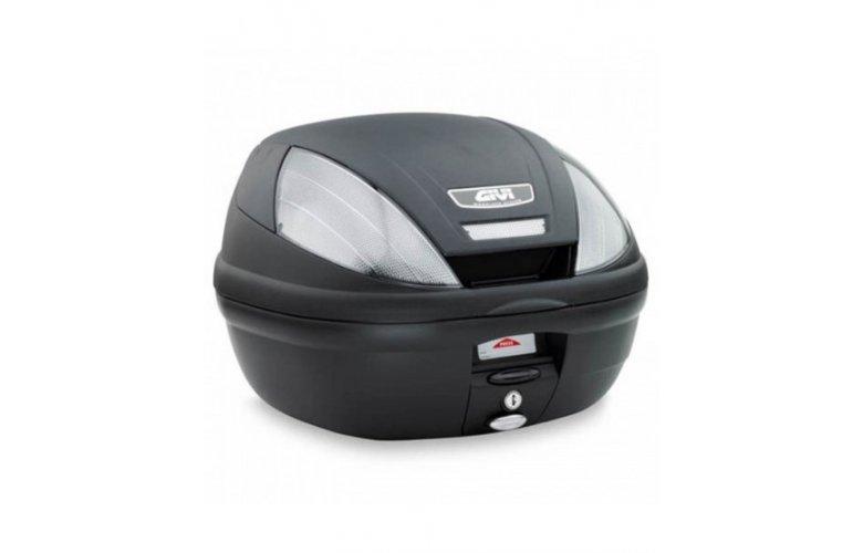 Βαλίτσα 39 λίτρα E370NT tech μαύρη monolock GIVI