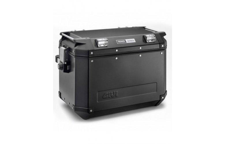 Βαλίτσα πλαϊνή Δεξιά 48 λίτρα OBK48 trekker monokey μαύρη GIVI