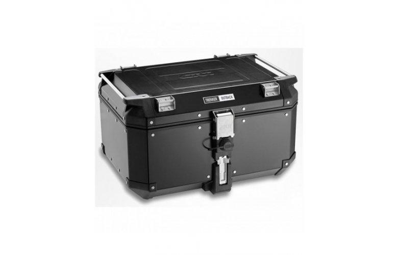 Βαλίτσα 58 λίτρα OBKN58Β μαύρη-αλουμινίου monokey GIVI