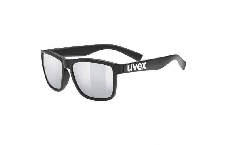 ΓΥΑΛΙΑ ΗΛΙΟΥ UVEX LGL 39 S5320122216 BLACK MAT/MIRROR SILVER