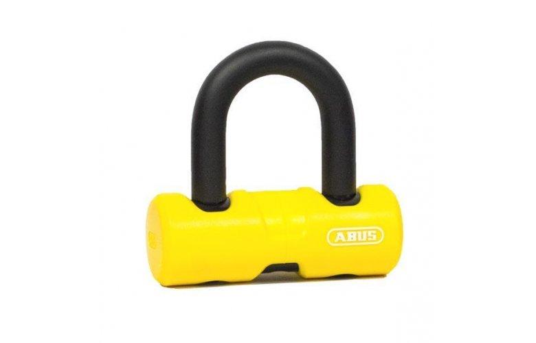Κλειδαριά δισκοφρένου ABUS 405 Moto Mini Κίτρινο