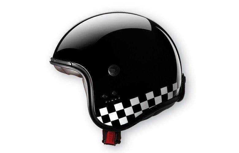 Κράνος Caberg Jet Freeride Indy μαύρο-άσπρο