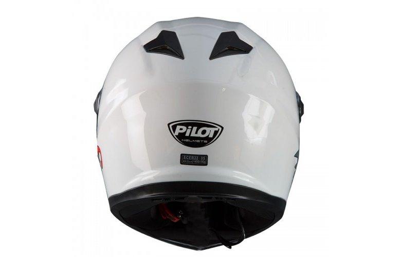 Κράνος Pilot FR3 SV άσπρο