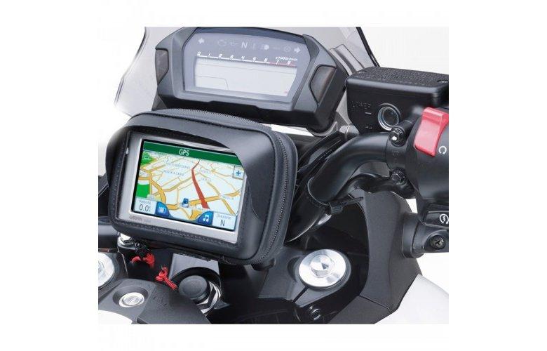 Βάση τιμονιού S953B για GPS, smart phone & τσαντάκι uni 3.5 ίντσες GIVI