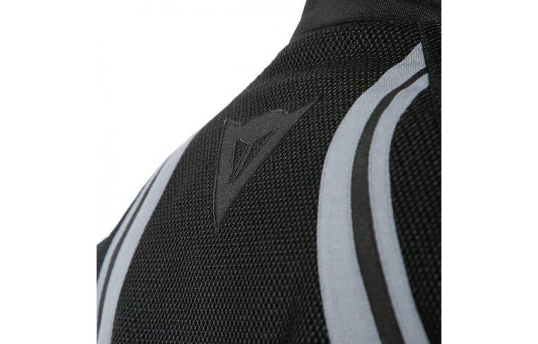 DAINESE AIR CRONO 2 Υφασμάτινο Μπουφάν Μαύρο / Γκρί