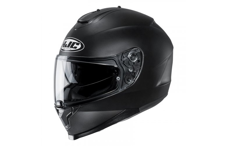 HJC C70 SEMI FLAT BLACK