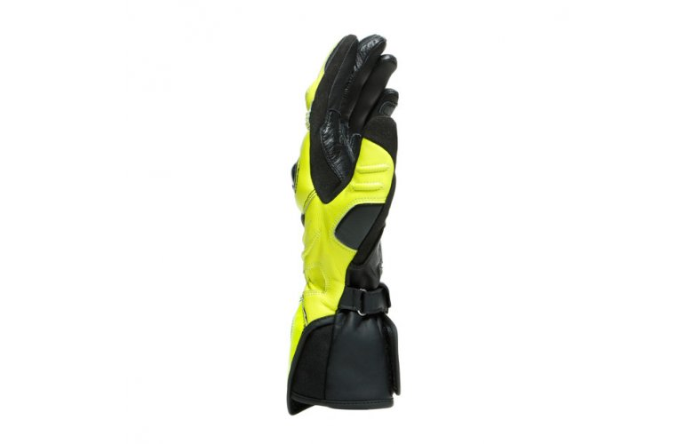DAINESE Racing Γάντια Long Carbon 3 Black / Fluo-Yellow / White