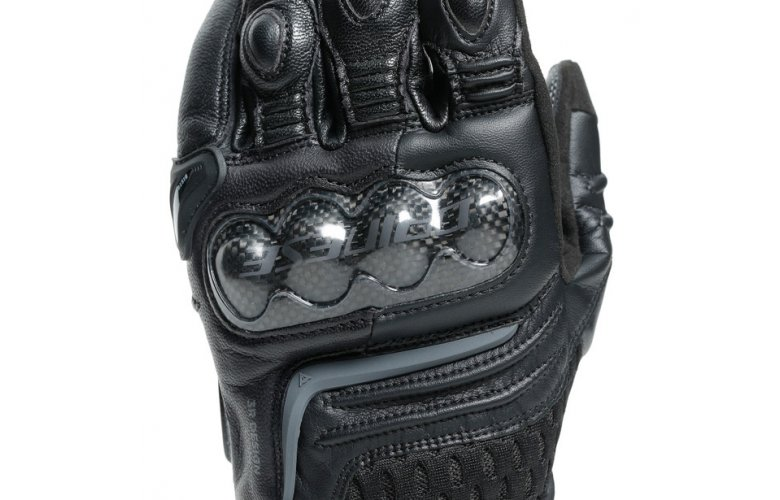 DAINESE Racing Γάντια Carbon 3 Short Black / Black
