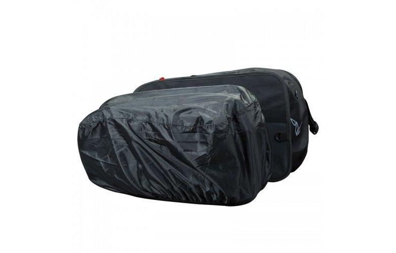 Τσάντες πλαϊνές Nordcap Cargo II μαύρο κόκκινο