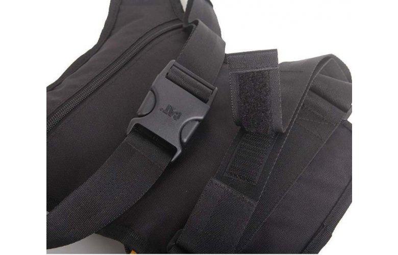 ΤΣΑΝΤΑΚΙ ΠΟΔΙΟΥ CATERPILLAR STEVE LEG WAIST BAG BLACK 83807-01