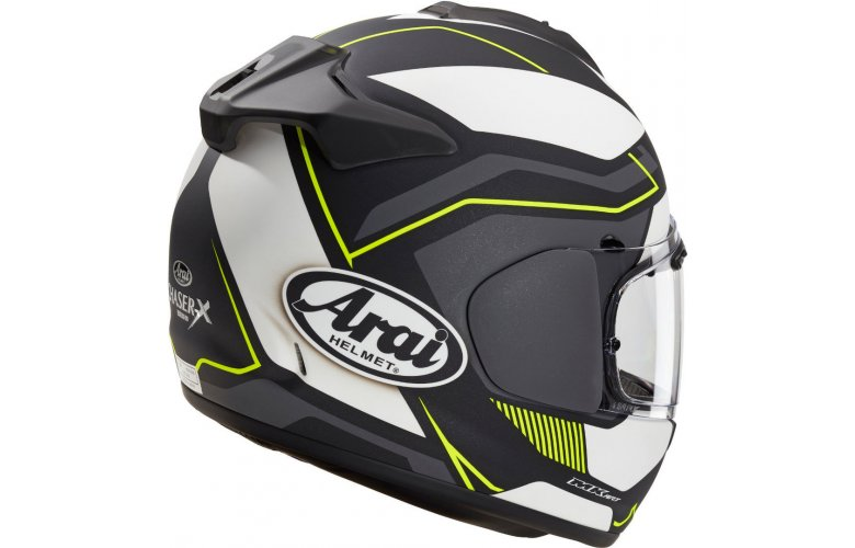 ΚΡΑΝΟΣ Arai Chaser-X Sensation Black Matt Yellow