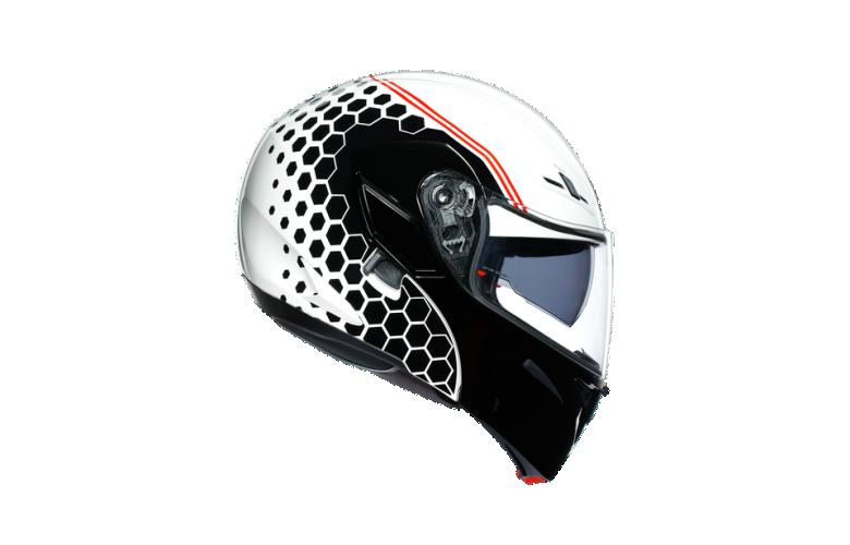 ΚΡΑΝΟΣ AGV COMPACT ST E2205 MULTI - DETROIT WHITE/BLACK