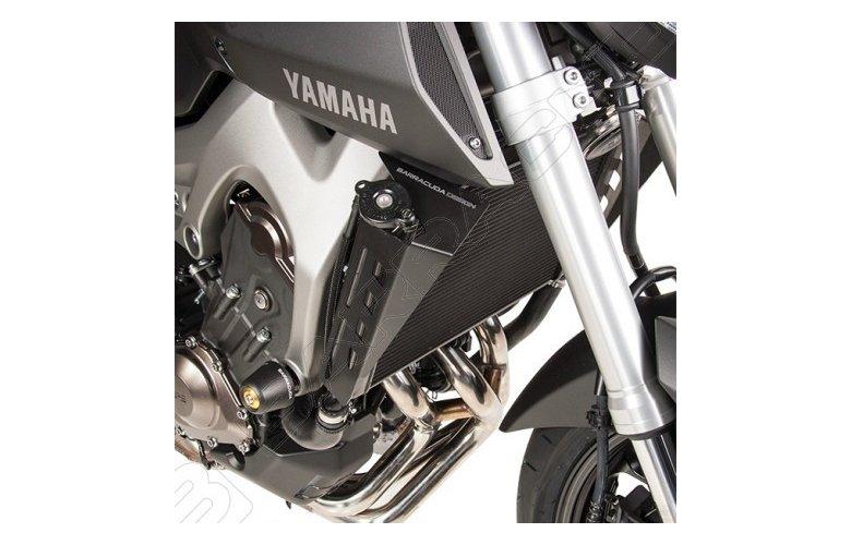 Αεραγωγοί ψυγείου Barracuda για Yamaha MT-09
