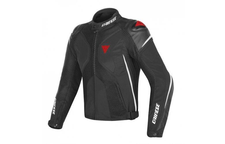 Μπουφάν Dainese Super Rider D-Dry Black / WHITE / Red ΜΑΥΡΟ ΑΣΠΡΟ ΚΟΚΚΙΝΟ