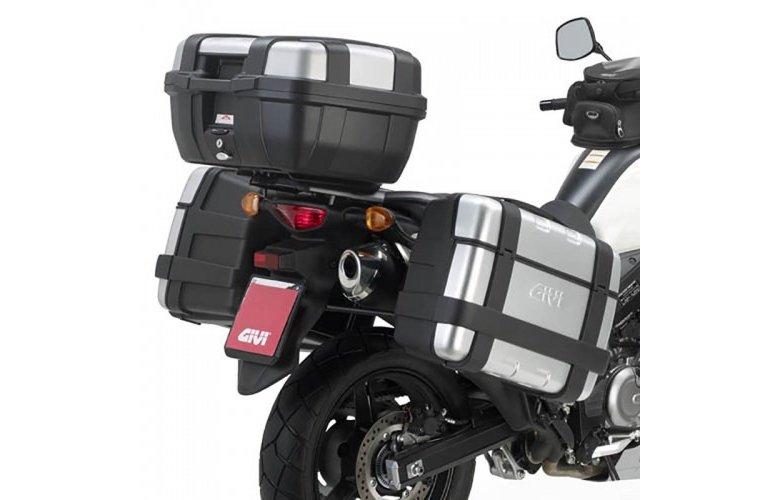 Βάσεις πλαϊνών βαλιτσών PL3101_DL650 V-Strom L2'11 Suzuki Givi