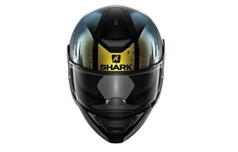 Κράνος Shark D-Skwal Dharkov Black/Green/Glitter
