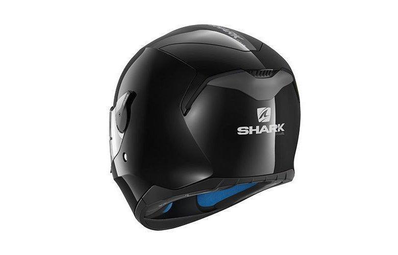Κράνος Shark D-Skwal Blank Black