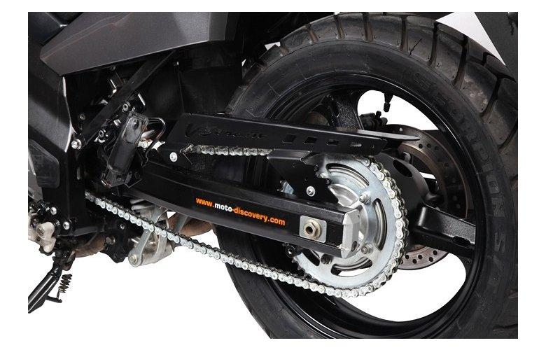 Προστατευτικό κάλυμμα αλυσίδας V-Strom DL650 μαύρο