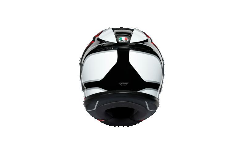 Κρανος AGV K6 E2205 HYPHEN BLACK/RED/WHITE