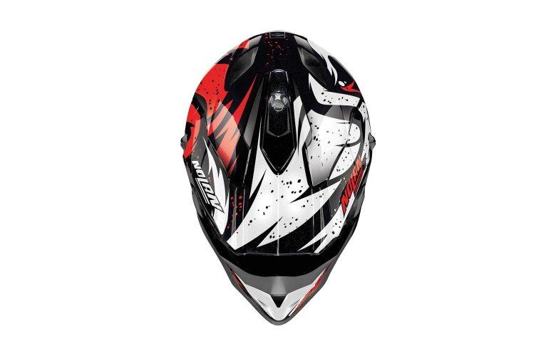 ΚΡΑΝΟΣ NOLAN N53 Buccaneer 51 Glossy Black red