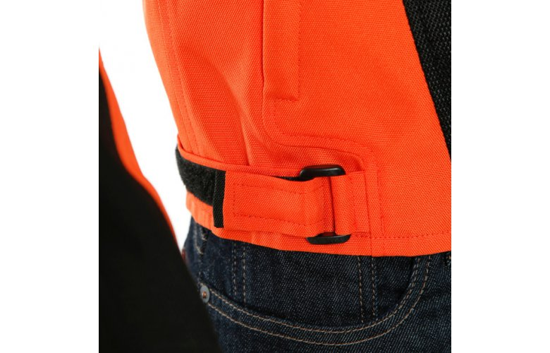 DAINESE LEVANTE AIR TEX ΚΑΛΟΚΑΙΡΙΝΟ ΜΠΟΥΦΑΝ Black/Light-Blue/Flame-orange
