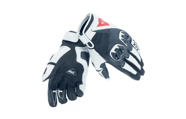 Dainese Γάντια MIG C2 Black / White / Black