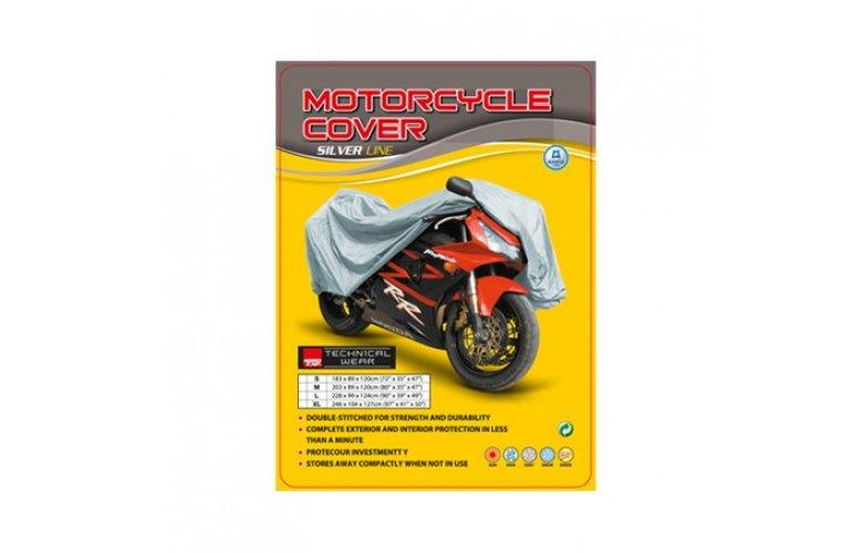 Κάλυμμα μοτό Nordcap Cover moto M Silver Line