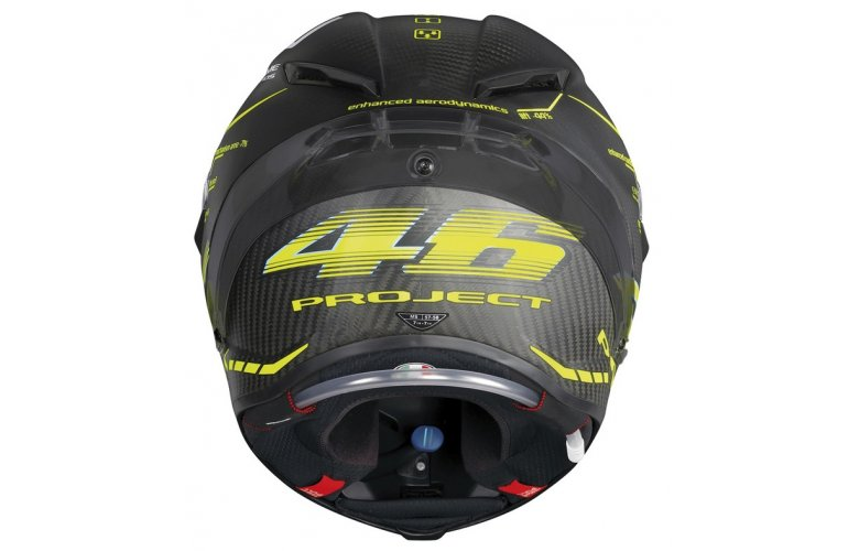 Κράνος AGV PISTA GP R TOP - PROJECT 46 2.0 CARBON MATT με Pinlock