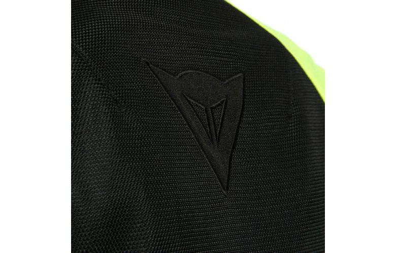 DAINESE RIBELLE AIR LADY Υφασμάτινο Μπουφάν Black / Black Fluo Yellow