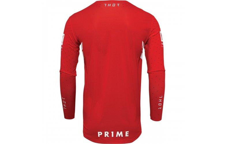 ΜΠΛΟΥΖΑ MX THOR PRIME HERO RED/WHITE JERSEY