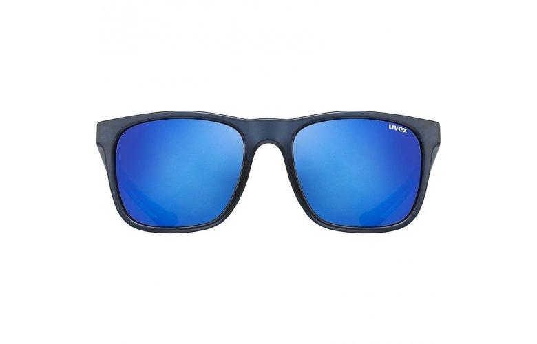 ΓΥΑΛΙΑ ΗΛΙΟΥ UVEX LGL 42 S5320324514 BLUE GREY MAT/MIRROR BLUE