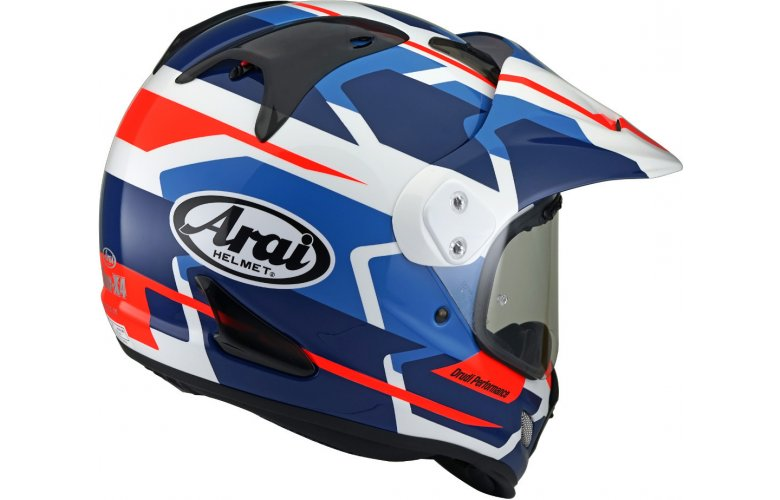ΚΡΑΝΟΣ Arai Tour-X 4 Depart Motocross Blue / Red