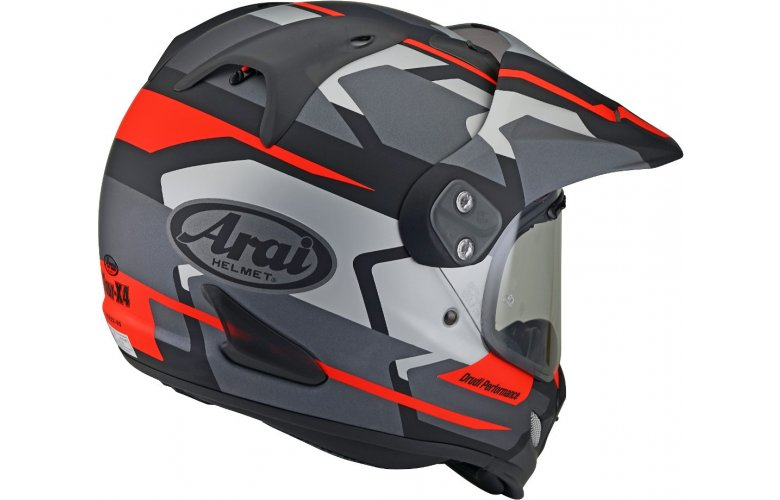 ΚΡΑΝΟΣ Arai Tour-X 4 Depart Motocross Gray / Red