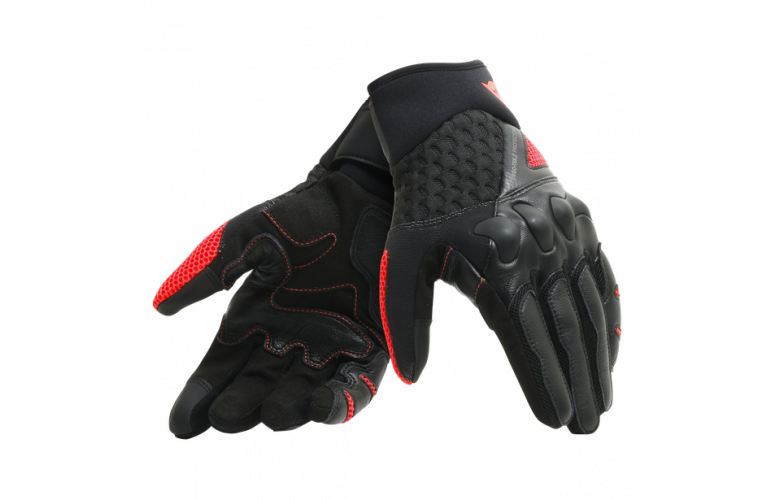 DAINESE X-MOTO Γάντια Black / Fluo Red