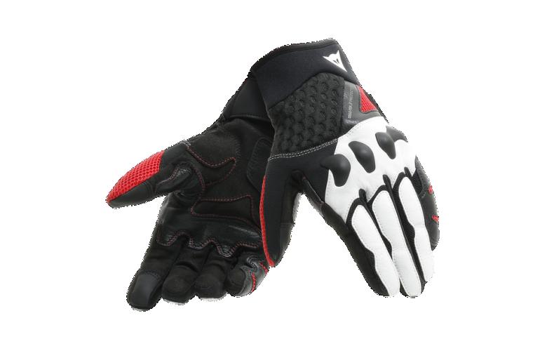 DAINESE X-MOTO Γάντια Black / White / Lava Red