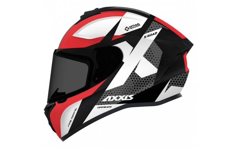 ΚΡΑΝΟΣ AXXIS X-ROAD B2 GLOSS RED