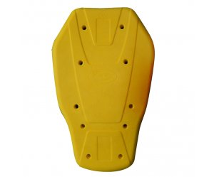 Προστασία πλάτης Nordcode Back Protector Memory Foam Lvl.1 κίτρινο