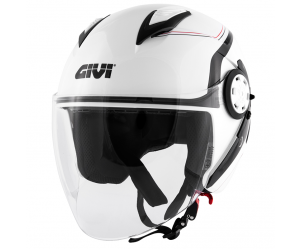 Givi 12.3 Stratos Gloss White/Black
