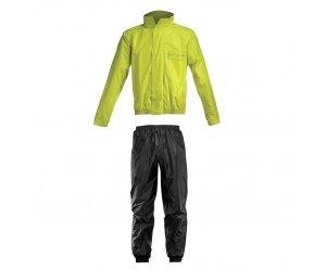 Αδιάβροχο σέτ Acerbis Rain Suit Logo Κιτρινο-Μαυρο