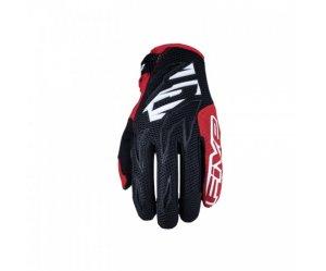 Γάντια Five MXF3 μαύρο-άσπρο-κόκκινο