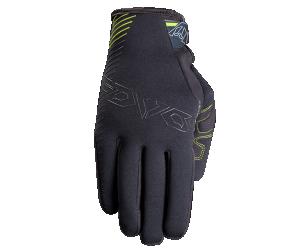 Γάντια Fovos Neoprene μαύρο fluo
