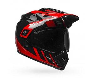 Κράνος Bell MX-9 Adventure Mips Dash μαύρο/κόκκινο/άσπρο