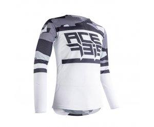 Μπλούζα Acerbis MX Helios vented 23905.287 γκρι-άσπρο