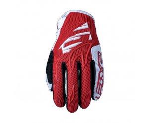 Γάντια Five MXF3 κόκκινο άσπρο