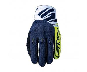Γάντια Five E3 fluo κίτρινο-μπλε