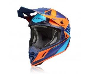 Κράνος Acerbis X-Track VTR μπλε/πορτοκαλί