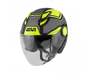 Κράνος Givi H12.3 Stratos SHADE Mat Titan/Black/Yellow