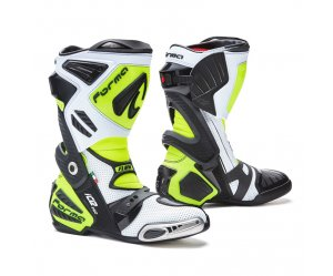 Μπότες Racing Forma Ice Pro Flow White/Black/Fluo Yellow